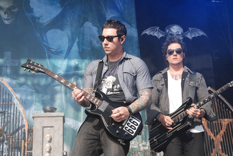 Avenged Sevenfold, Graspop Metal Meeting 2011