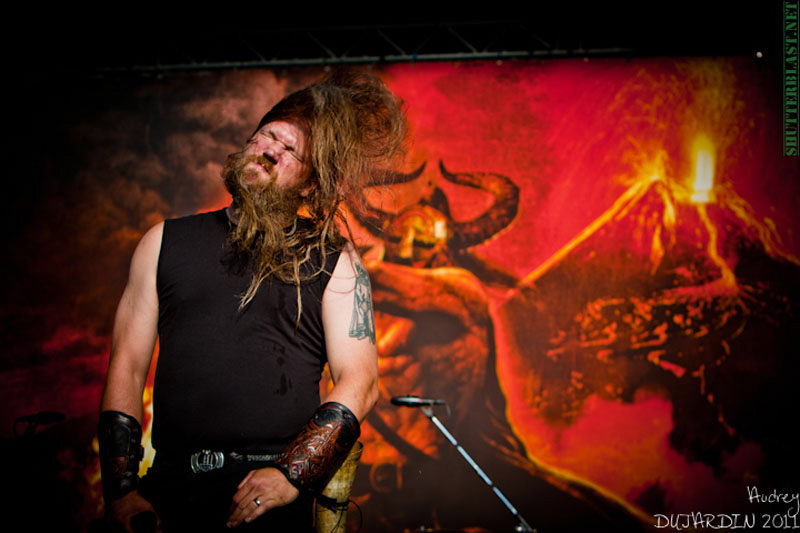 Amon Amarth, live, Tuska Open Air 2011