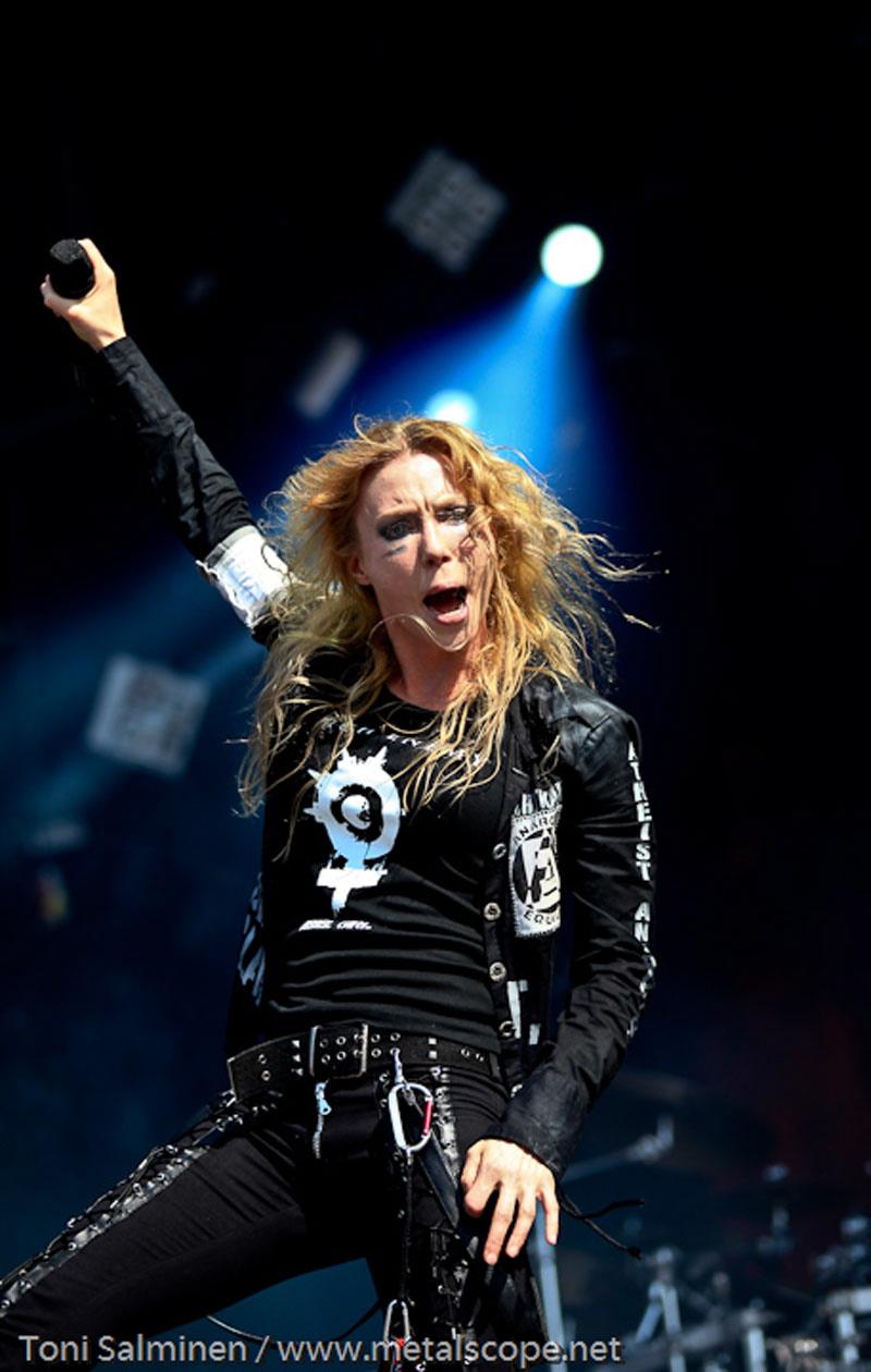 Arch Enemy, live, Tuska Festival 2011