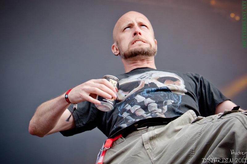 Meshuggah, live, Tuska Open Air 2011