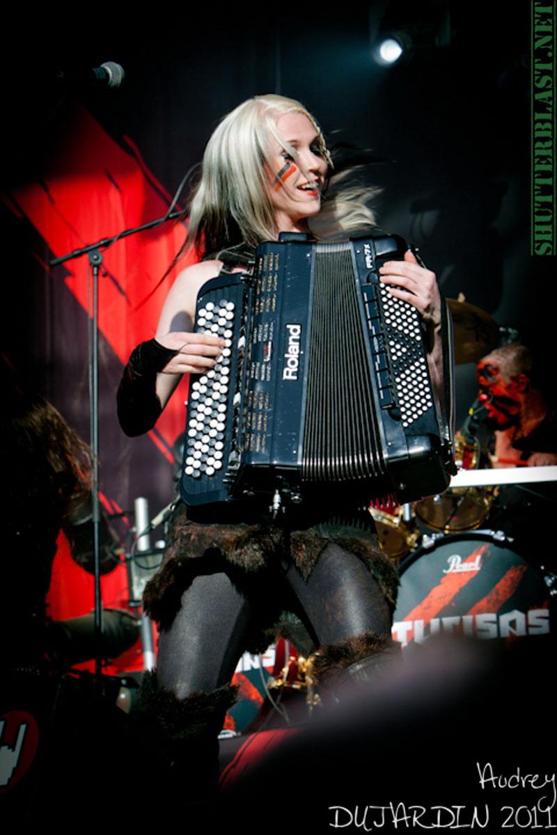 Turisas, live, Tuska Open Air 2011