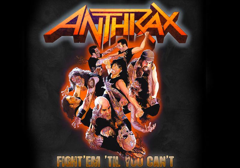 Anthrax, Download-Cover zu Fight Em Til You Cant