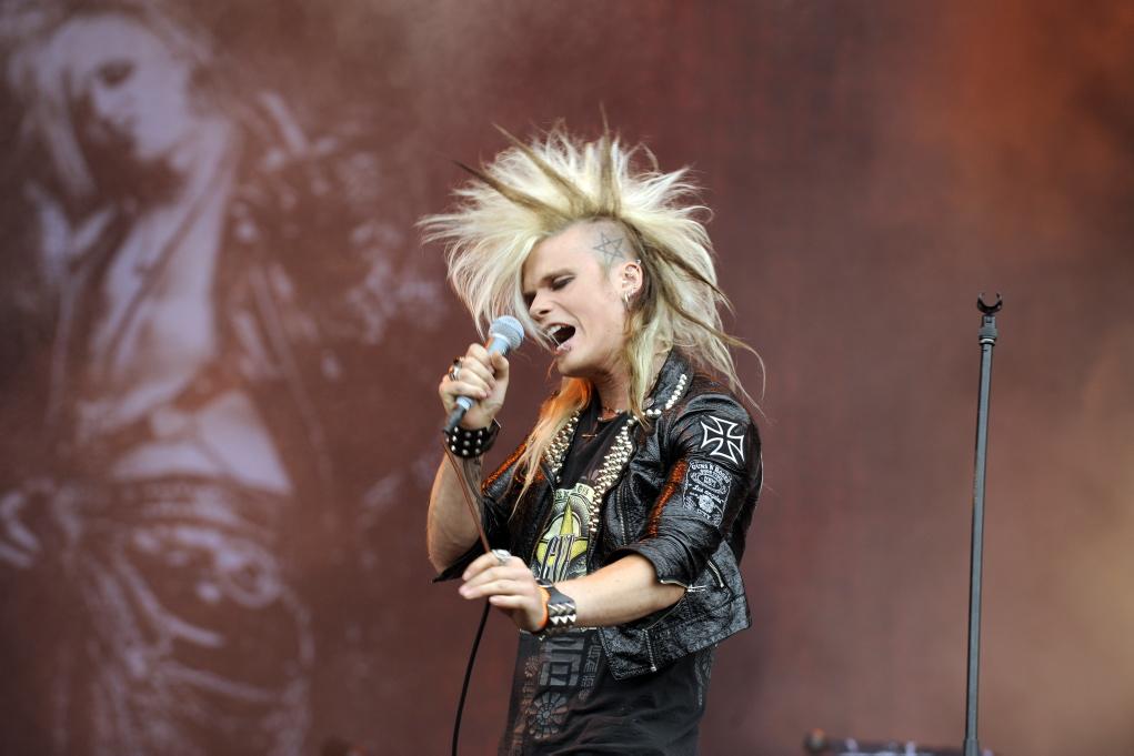 Crash Diet, live, Wacken 2011