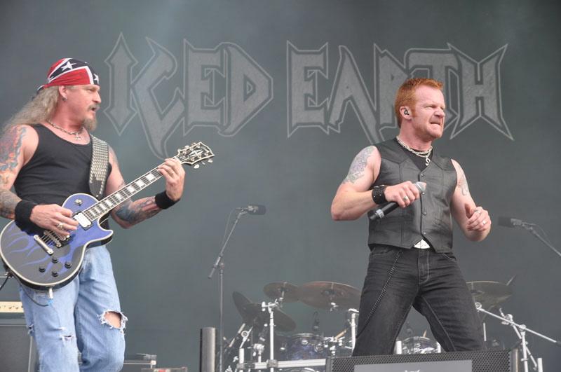 Iced Earth, live, Wacken 2011