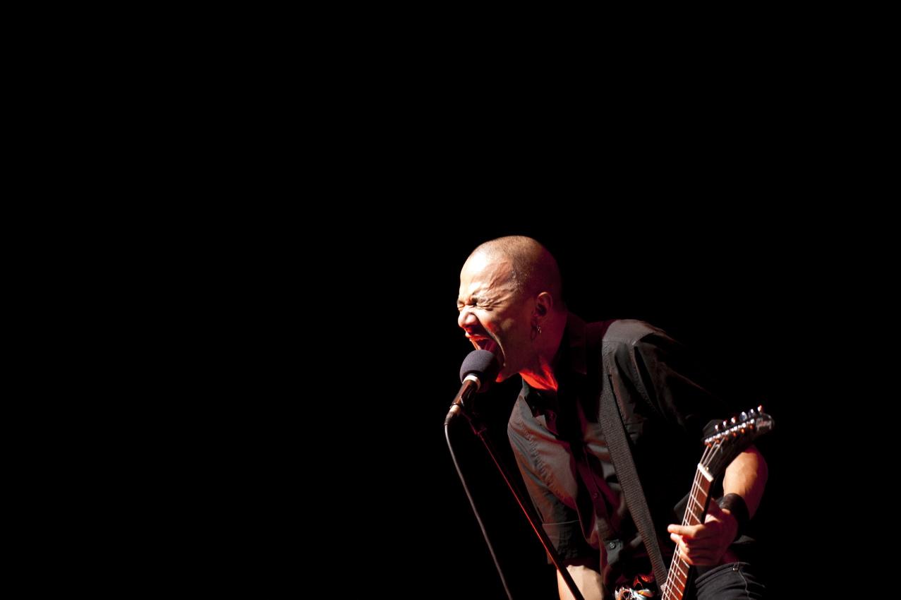 Danko Jones, live, Wacken 2011