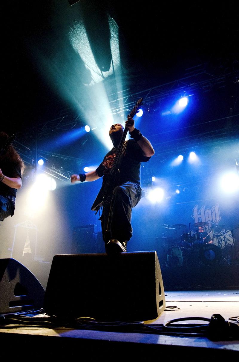 Hail Of Bullets, live, Wacken 2011
