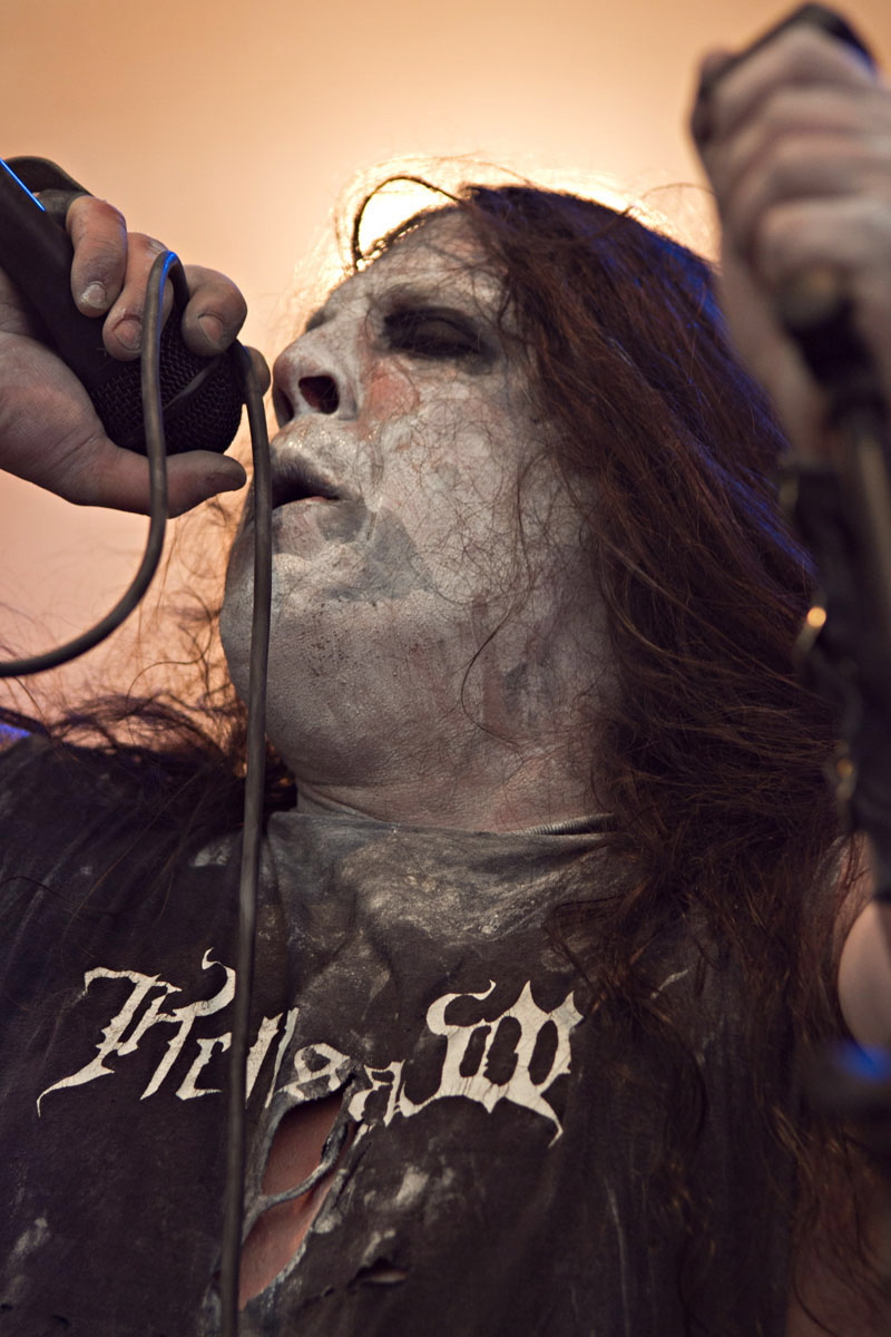 Hellsaw, live, Wacken 2011