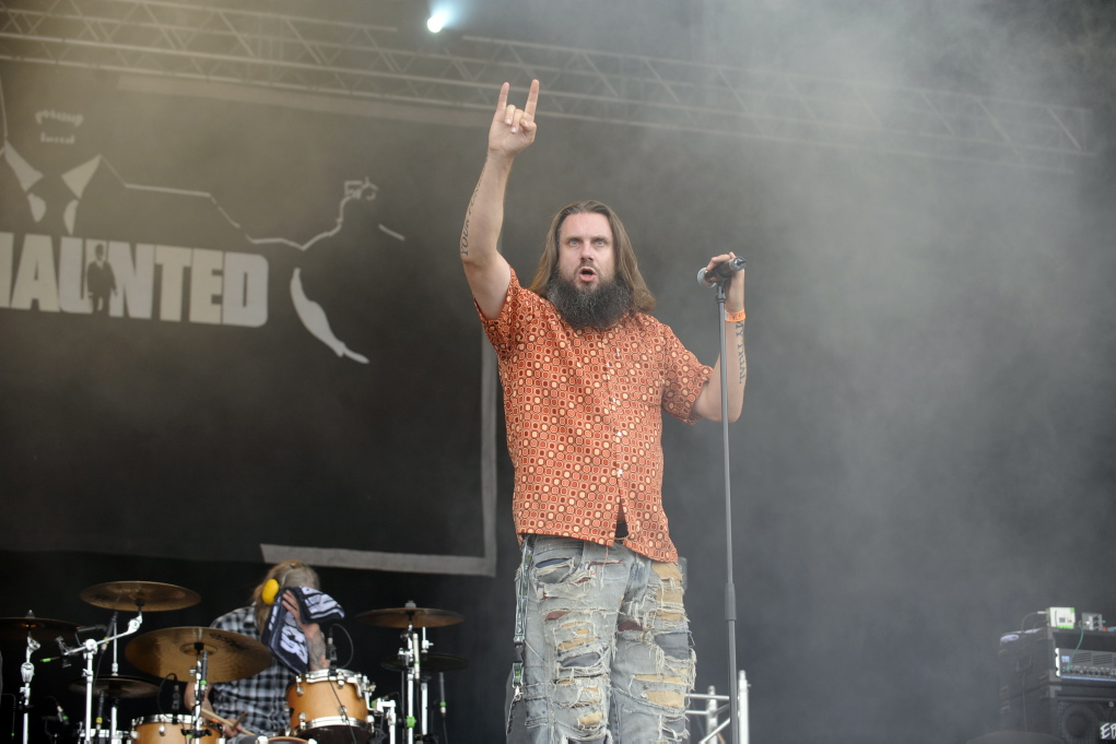 The Haunted, live, Wacken 2011