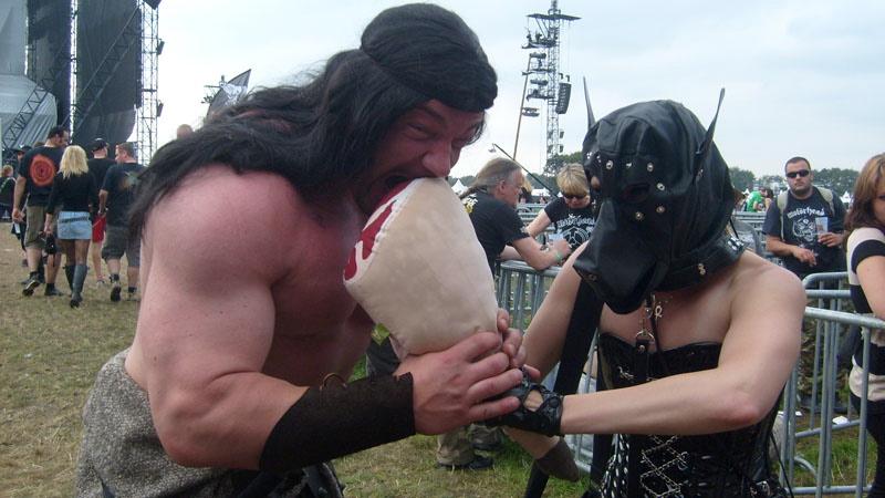 Conan versus Wacken