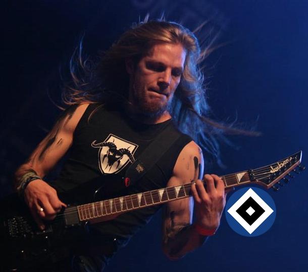 Negator, Gitarrist Finnskald, HSV-Fan