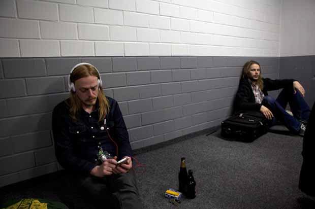 Graveyard, auf Tour mit Motörhead