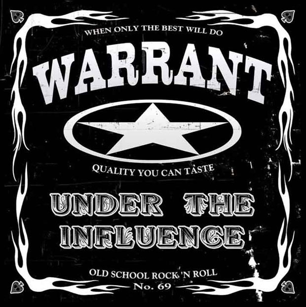 Warrant, Under The Influence, Cover