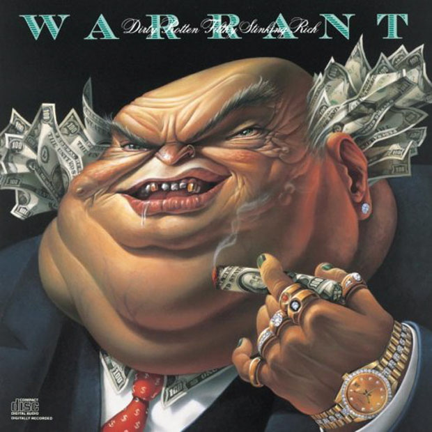 Warrant, Dirty Rotten Filthy Stinking Rich, Cover