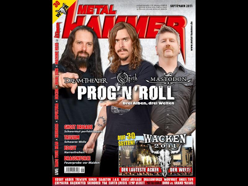 Metal Hammer, September-Ausgabe 2011