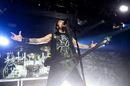 Machine Head, 26.01.2010 Hamburg, Große Freiheit 36