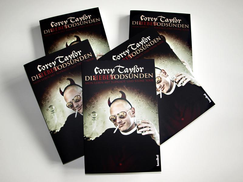 Corey Taylor, Die Sieben Todsünden, Buch