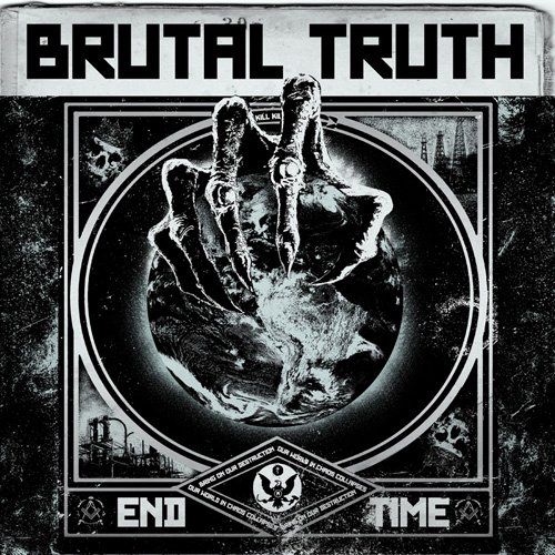 Brutal Truth, End Time, Cover