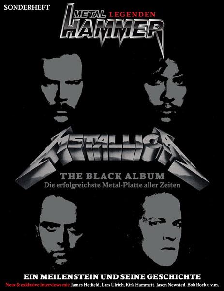 Metallica auf dem METAL HAMMER Cover, Ausgabe September 2011