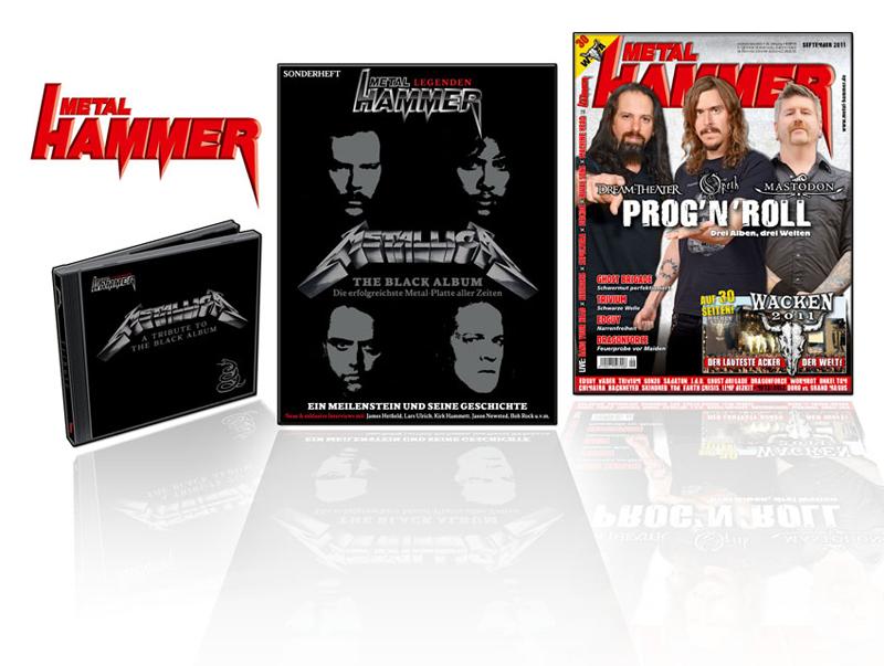 Metallica Sonderheft vom METAL HAMMER