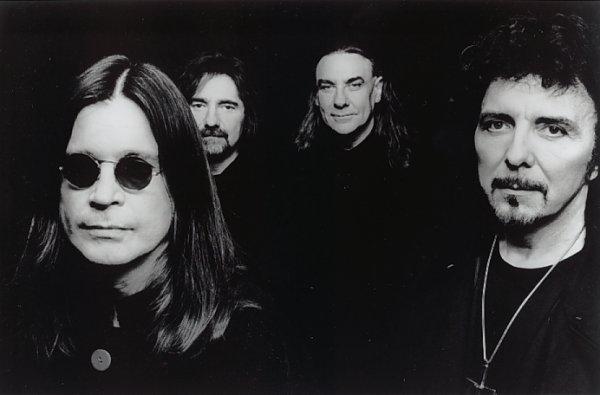 Black Sabbath Promo Bild zu 'The Last Supper'