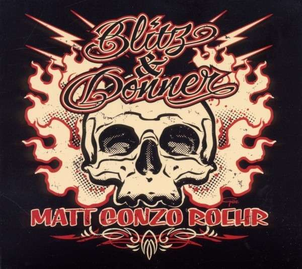 Matt Gonzo Roehr, Blitz & Donner, Cover