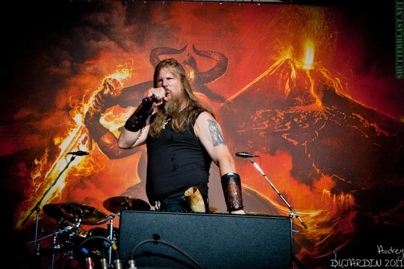 Amon Amarth, live, Tuska Open Air 2011