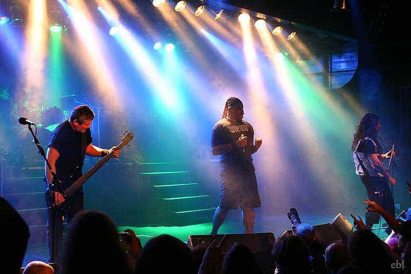 Sepultura, live, 29.11.2011 München, Backstage