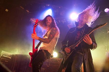 Hammerfall, live, 31.10.2011 Hamburg, Grosse Freiheit 36