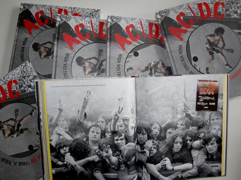 AC/DC, High Voltage-Rock'n'Roll, Bild-Band