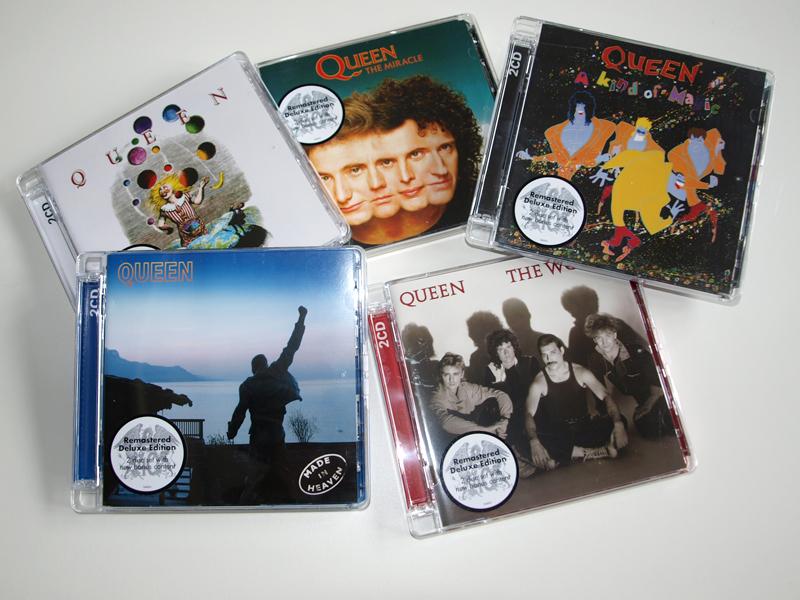 Queen-Verlosung, die letzten fünf Alben