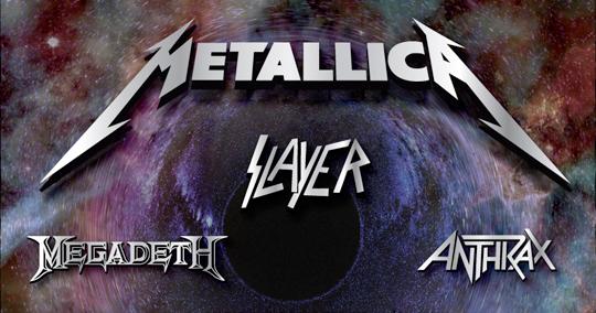 Big Four, Band-Logos