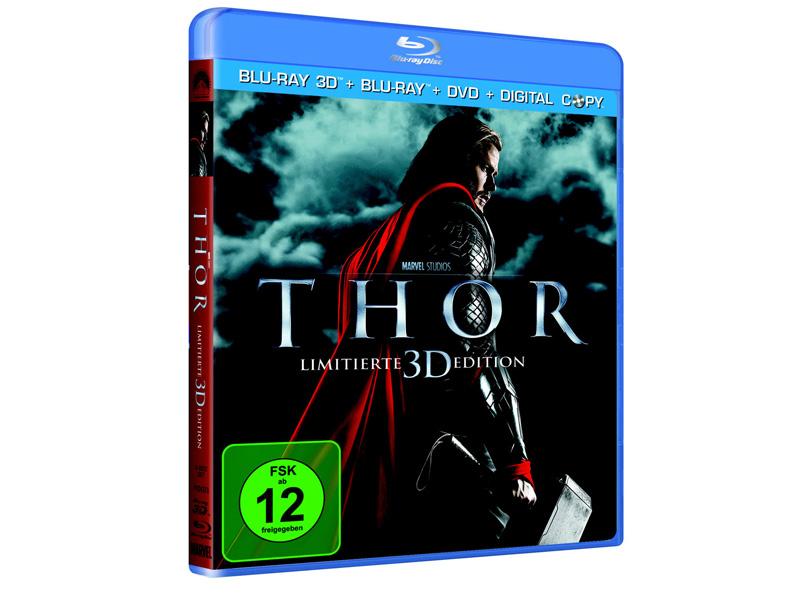 Thor, Blu-ray Version der Comic-Verfilmung