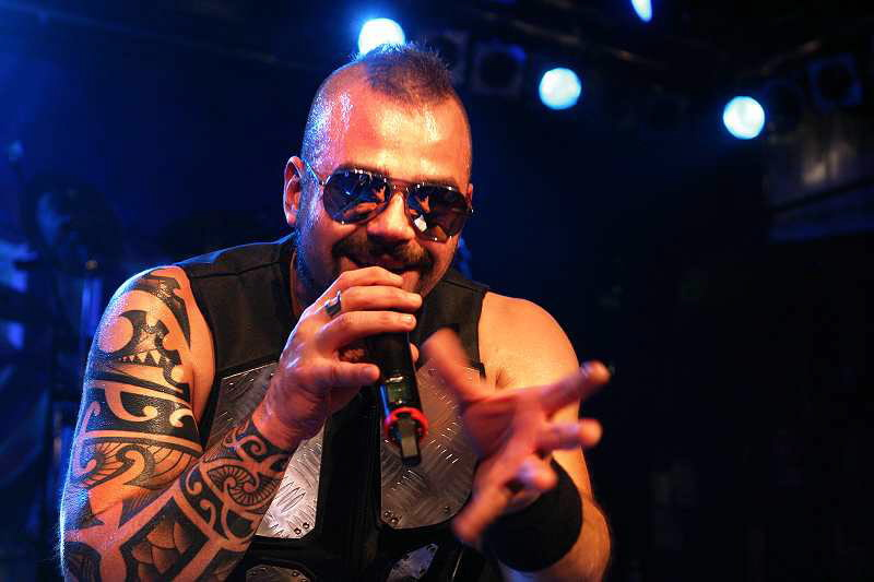 Sabaton, live, 08.09.2011, München, Backstage