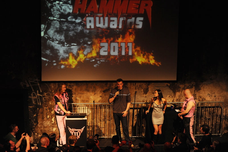 Impressionen vom METAL HAMMER Award 2011