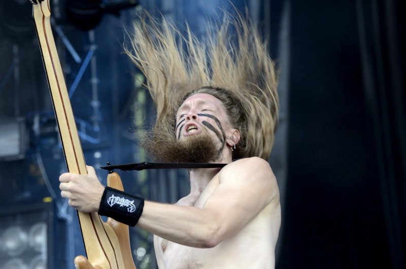 Ensiferum, live, Wacken 2011