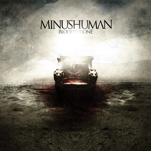 Minushuman, Bloodthrone, Cover