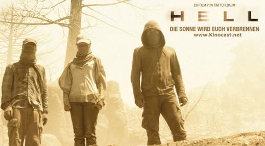 Hell - Die Sonne wird euch verbrennen, Film-Plakat