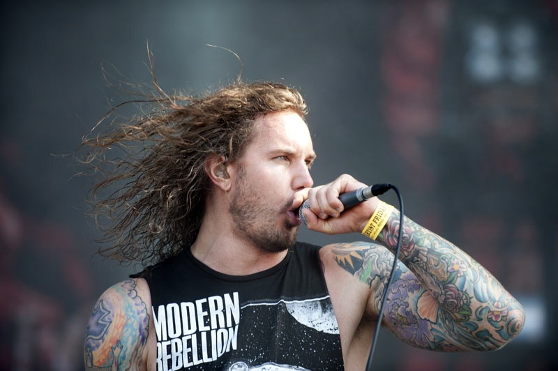 As I Lay Dying, live, Wacken 2011