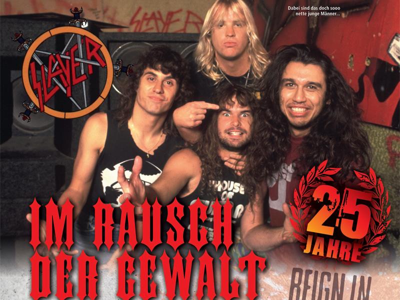 Slayer-Special zum 25. Geburtstag von Reign In Blood