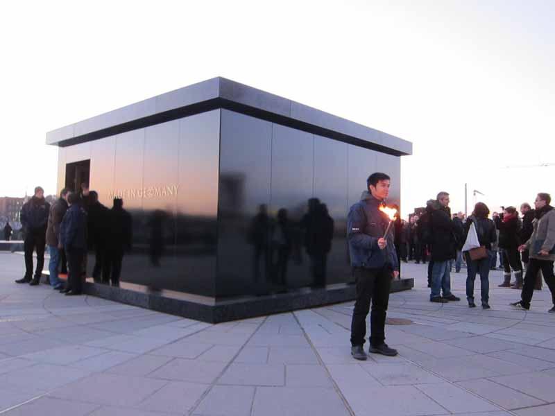 Rammstein errichten sich ihr Mausoleum, Berlin, 25.11.2011