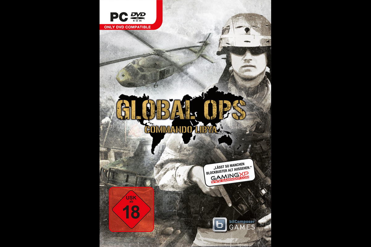 Global Ops – Commando Libya, Packshot