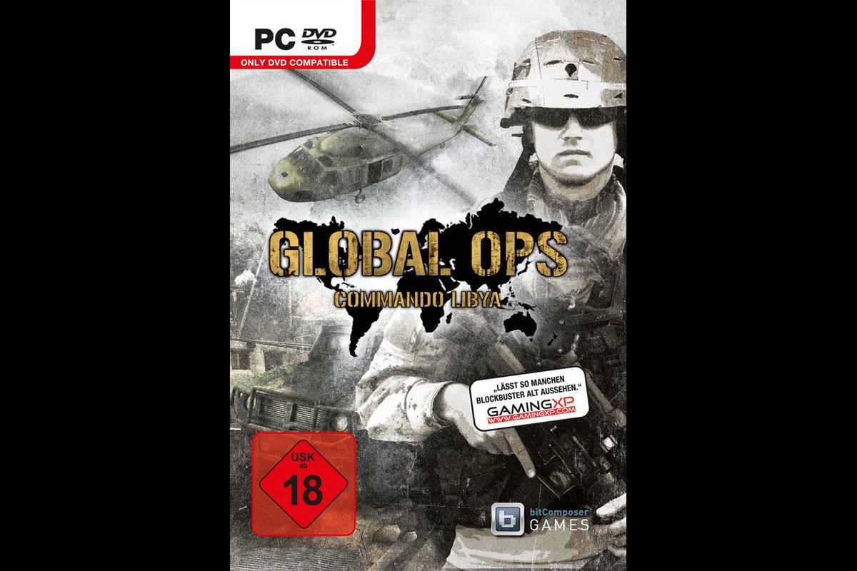 Global Ops – Commando Libya, Packshot