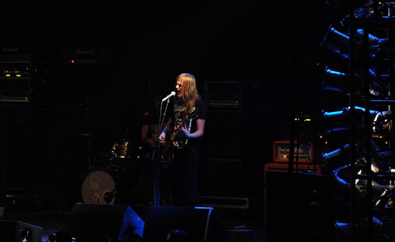 Graveyard, live, 30.11.2011 Hamburg, Alsterdorfer Sporthalle