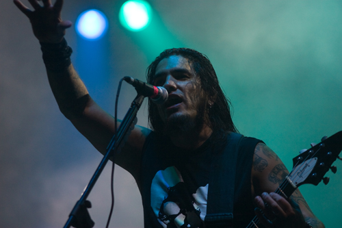 Machine Head live, With Full Force 2008