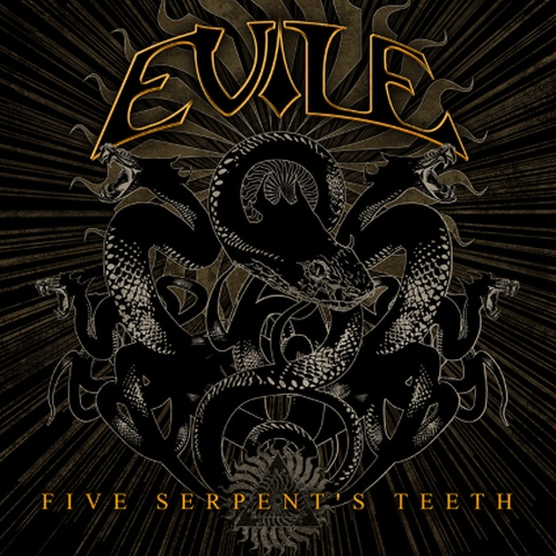Evile, Five Serpents Teeth, Cover