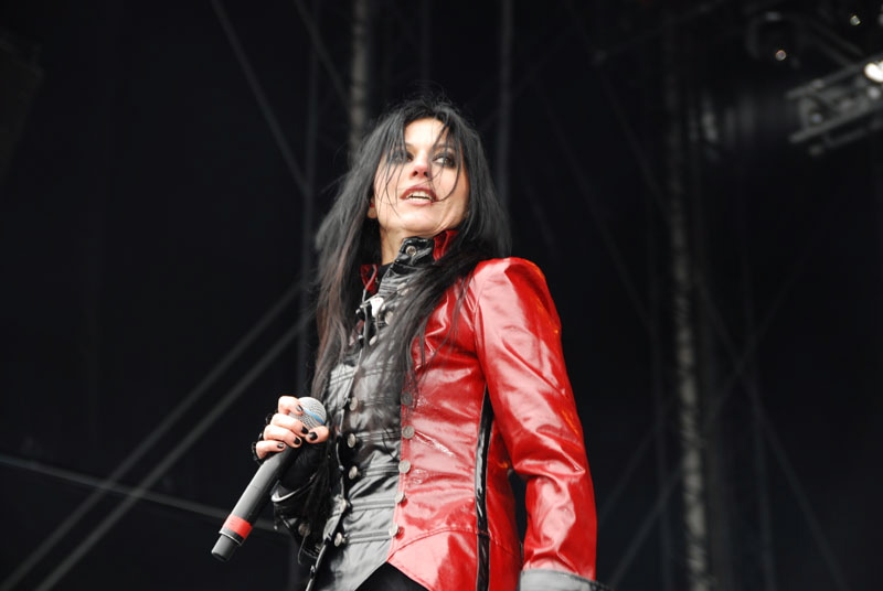 Lacuna Coil, Graspop Metal Meeting 2011