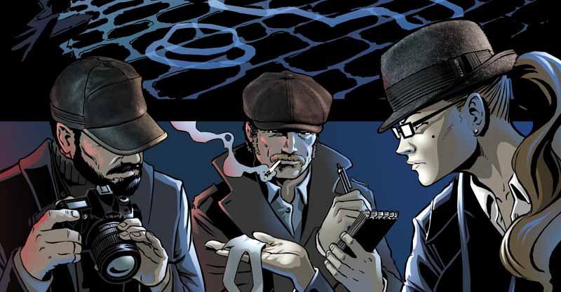 Entstehung der Gotham City Comic-Kampagne von Stetson