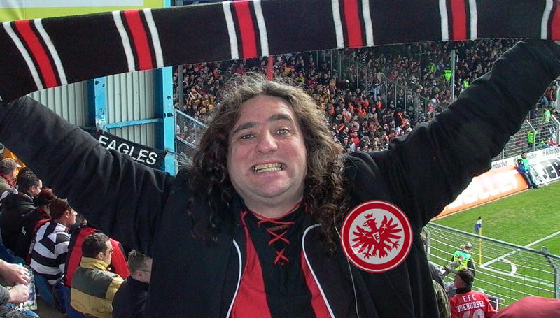 Tankard-Sänger Gerre im Stadion