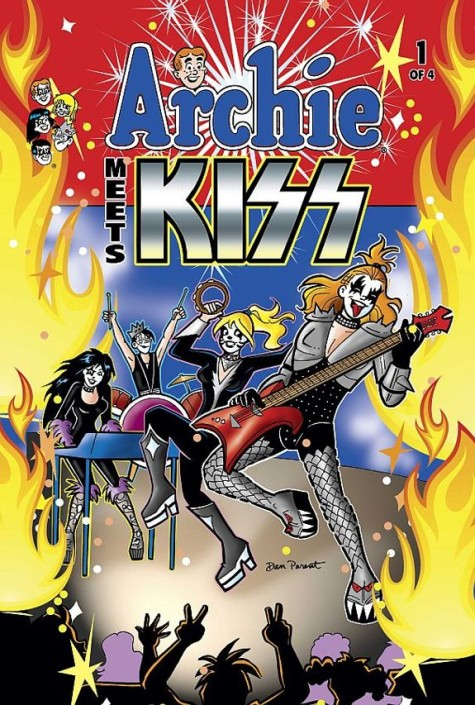 Kiss in den Archie-Comics