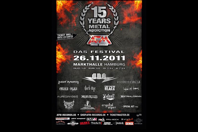 AFM Festival 2011, Flyer